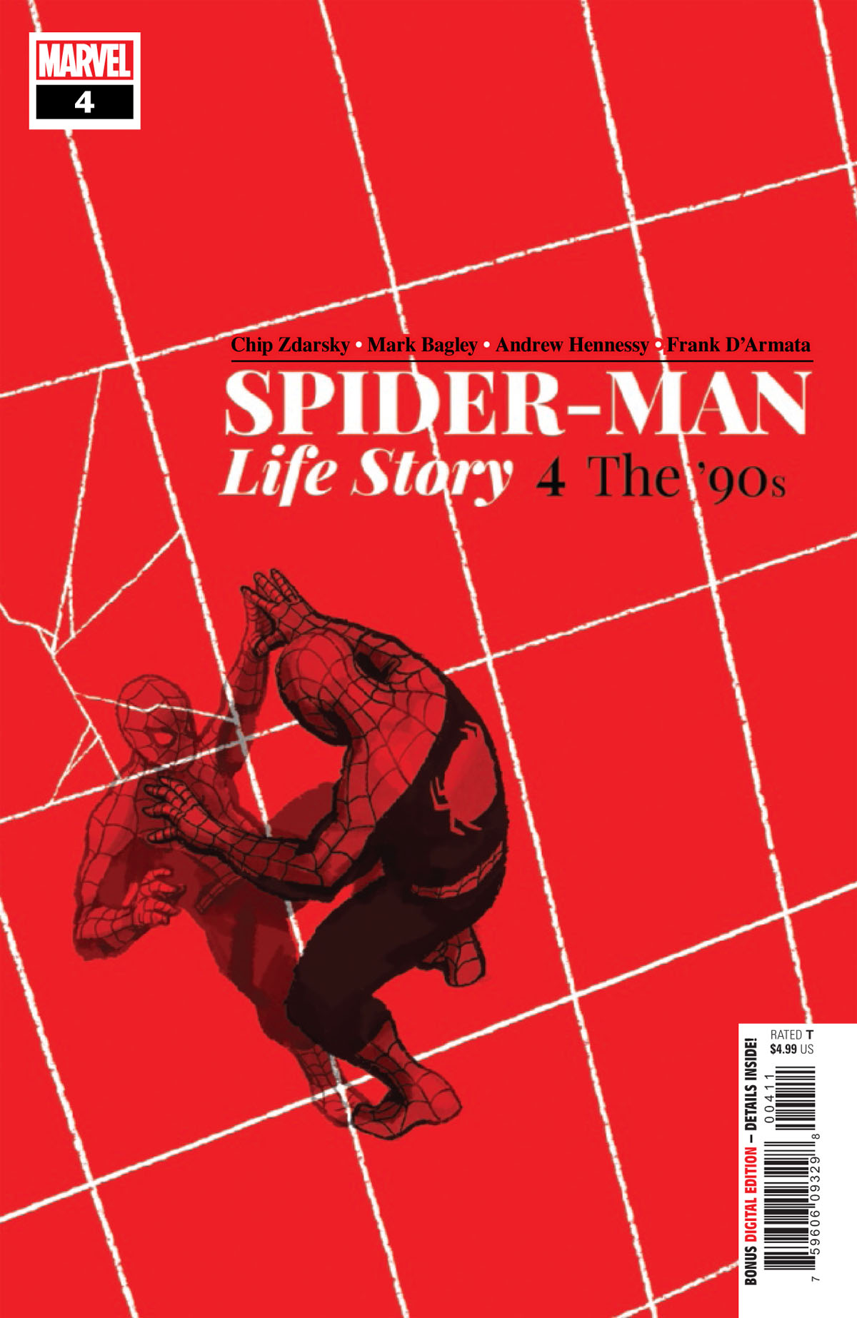 Spider-Man: Life Story #4 cover