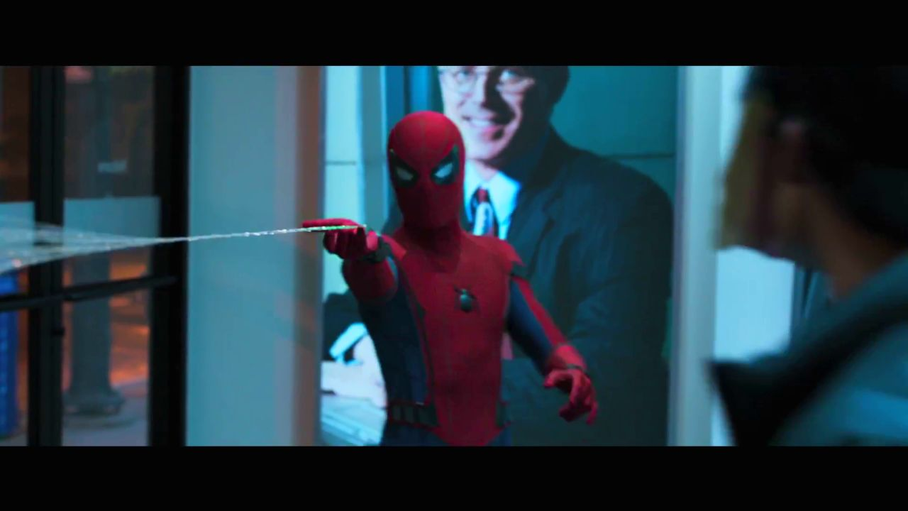 65 screenshots from the spider man homecoming trailer