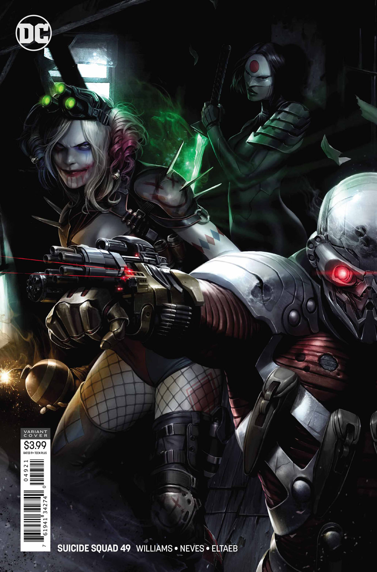 Suicide Squad 49 variant cover