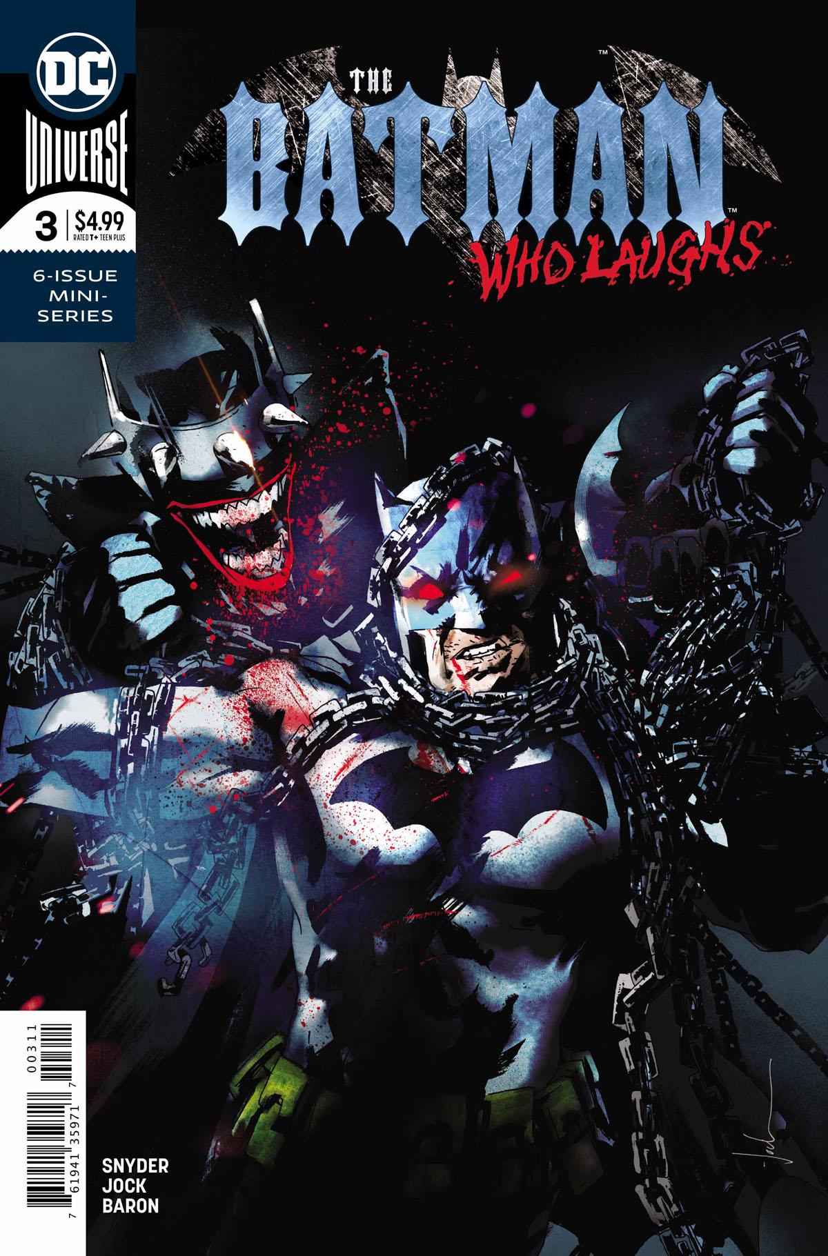 The Batman Who Laughs #3 cover