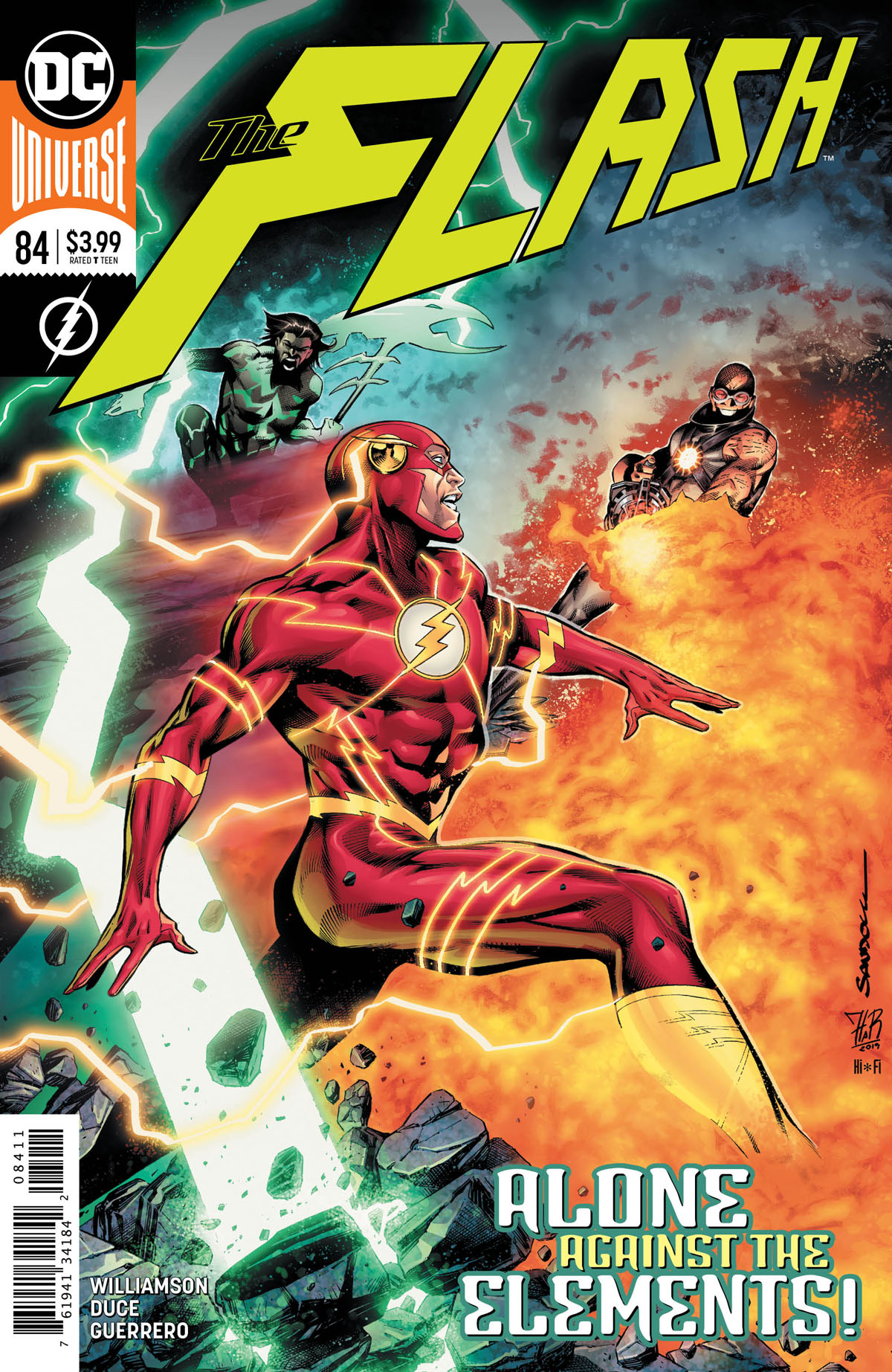 The Flash #84 cover