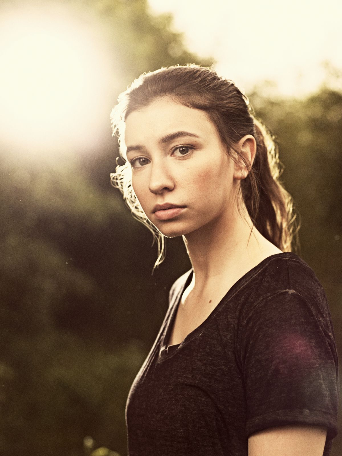 Katelyn Nacon as Enid - The Walking Dead _ Season 9, Gallery- Photo Credit: Victoria Will/AMC