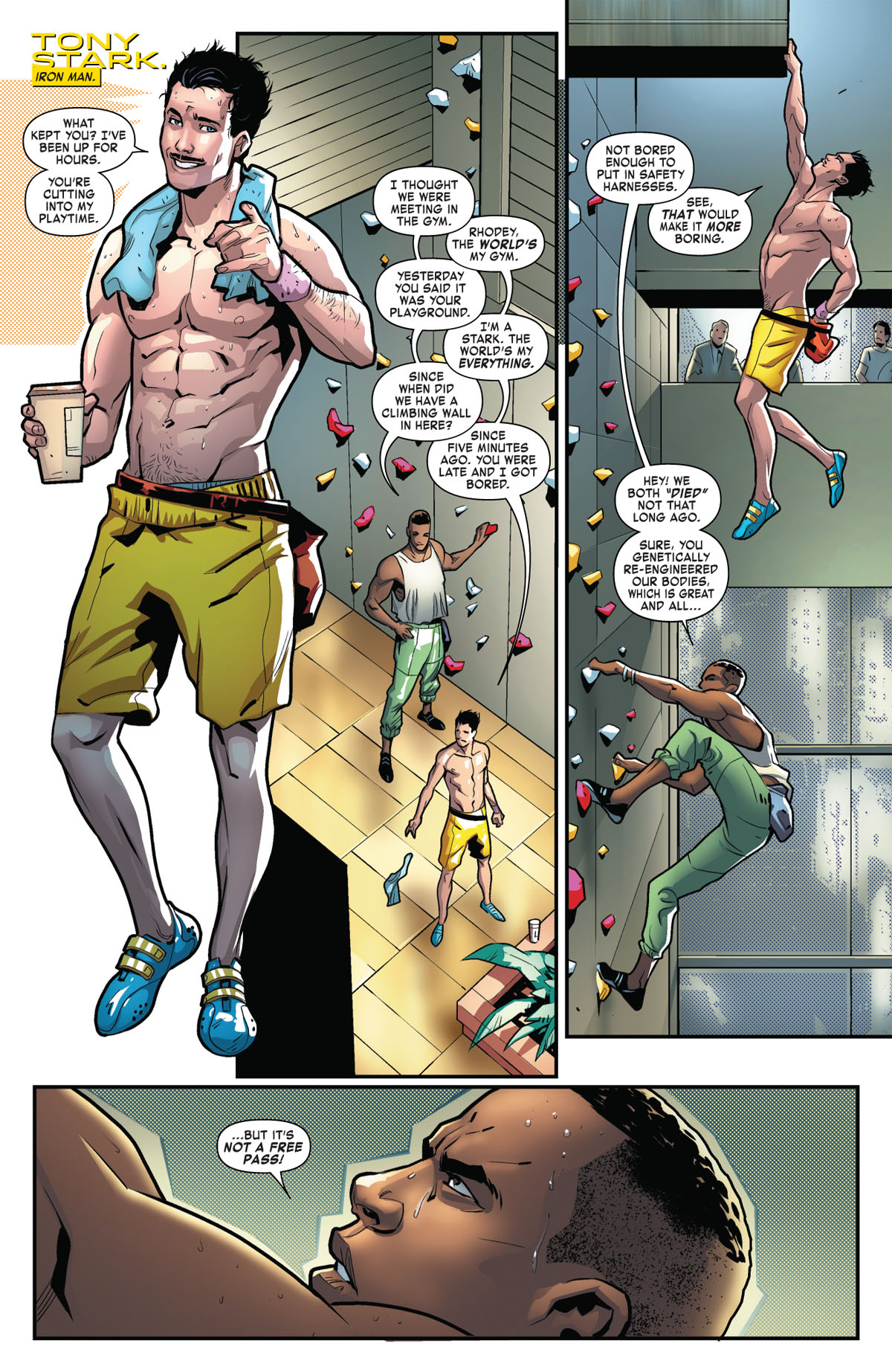 Tony Stark: Iron Man #2 page 4