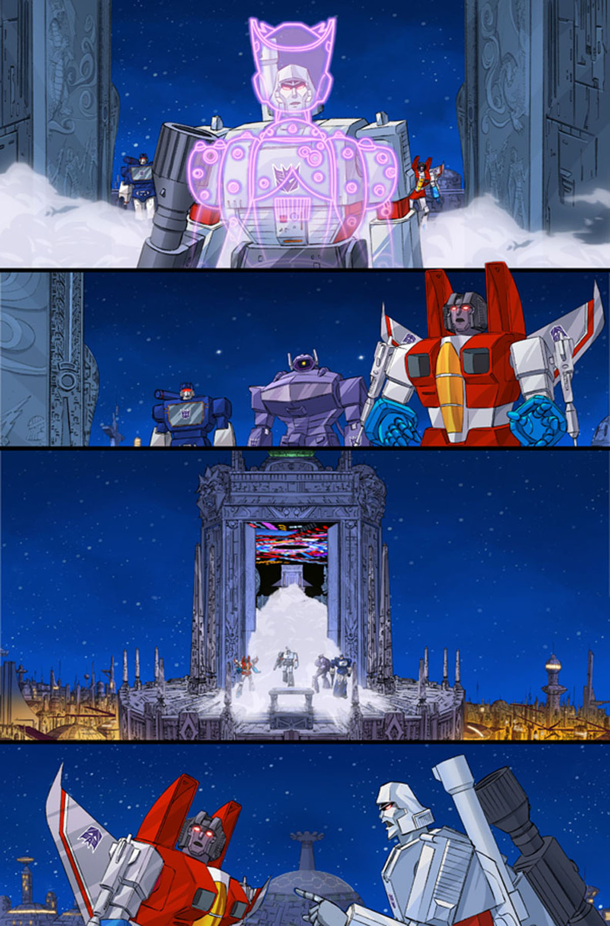 Transformers/Ghostbusters #1 page 2