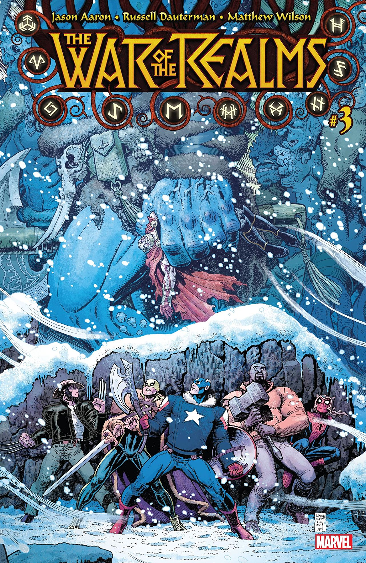 War of the Realms #3 cover